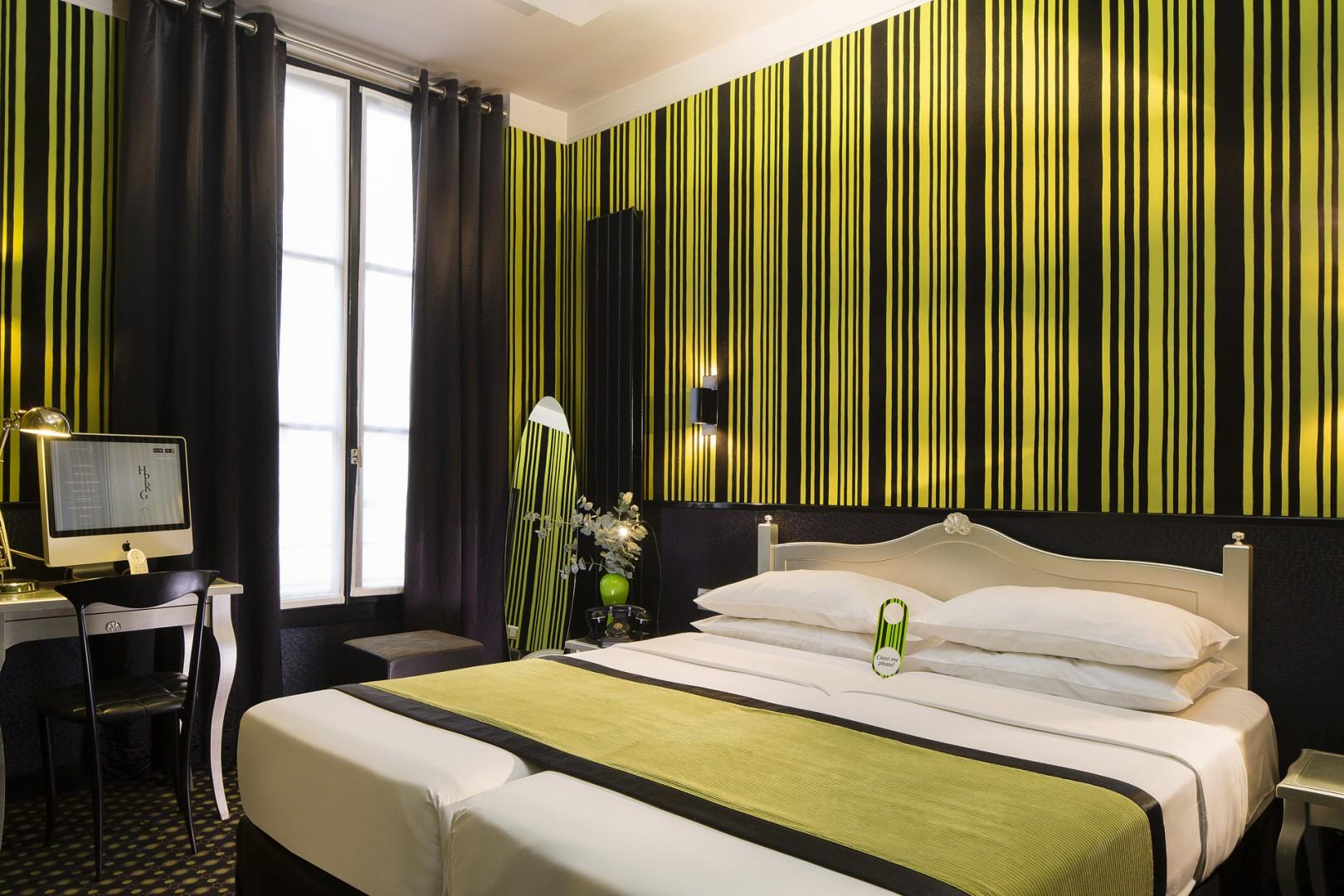 Galerie photos h tel design sorbonne paris panth on st for Paris hotel design
