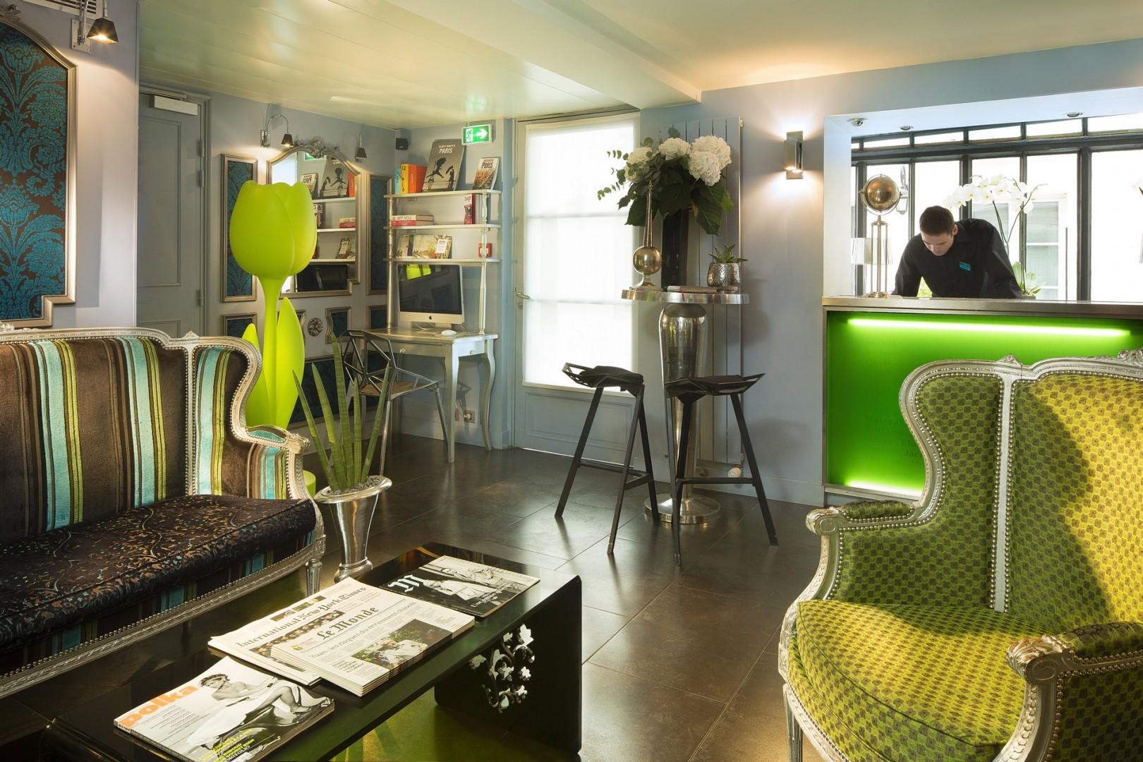 Galerie photos h tel design sorbonne paris panth on st for Hotel design sorbonne 6 rue victor cousin 75005 paris france