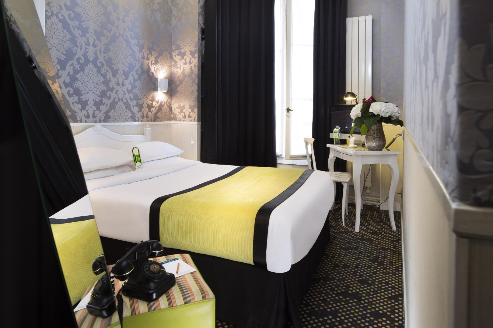 Our rooms - Hotel Design Sorbonne, Pantheon, Saint Germain des Pres