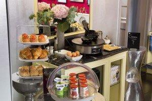 Breakfast hotel sorbonne